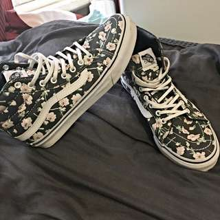 Authentic Vans Floral Skate Highs
