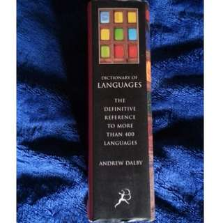 🚚 Dictionary of Languages by Andrew Dalby (語言學)