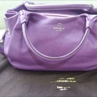 Kate Spade (KS) Bag (purple)