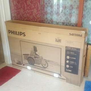 "$20 = 58"" Philips Tv (Box /Carton Only)"