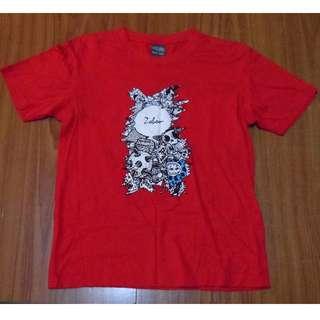 [ 二手 ] 衣服 T恤 二手衣 紅色 S
