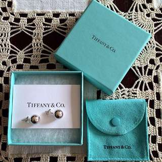 Authentic Tiffany & Co. Beads Earrings (10mm)