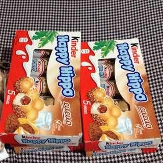 香港代購 河馬巧克力