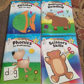Preschool Workbooks (K to 1)