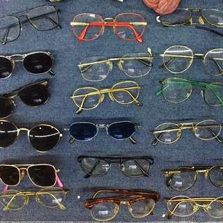 復古造型眼鏡/墨鏡