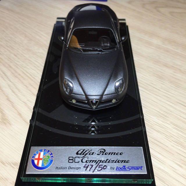 1:43 LOOKSMART Alfa Romeo 8C Competizione Francoforte 2007