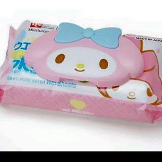 美樂蒂濕紙巾