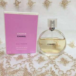 CHANEL CHANCE  Eau Tendre 粉紅甜蜜淡香水-玻璃分裝