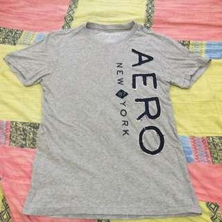 近全新!美式 Aero 灰色 短t Af 尺寸S M