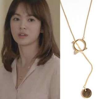 🚚 【現貨+預購】韓劇太陽的後裔宋慧喬同款項鍊