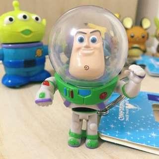 香港迪士尼-玩具總動員巴斯光年鑰匙圈