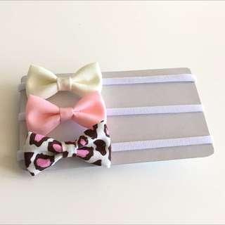5.5 cm Headband - Pink, Ivory & Pink Leopard Print