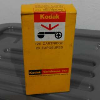 Kodak verichrome pan film
