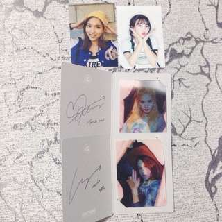[WTT] TWICE PAGE TWO ALBUM PHOTOCARDS AND LENTICULARS