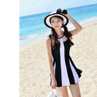 SwimSuit Dress With Pants (Brand new)