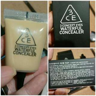 BRAND NEW - Sephora - 3CE Waterful Concealer