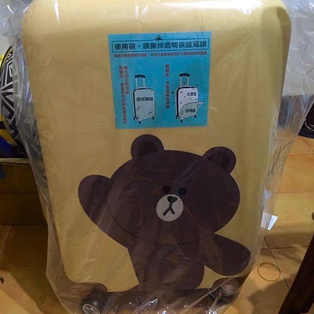 熊大行李箱20寸(全新)