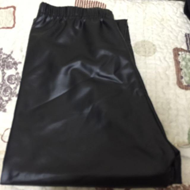 韓國熱賣皮褲