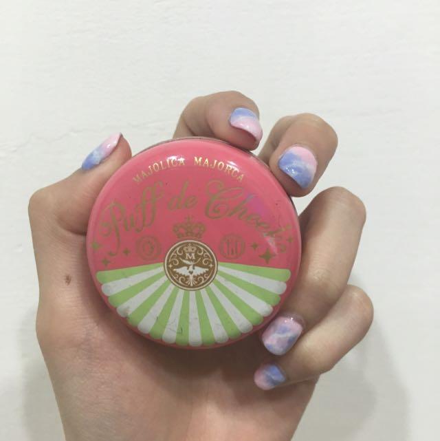 (降價💰)戀愛魔鏡腮紅+粉撲