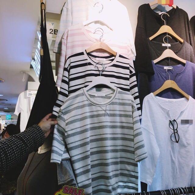 🇰🇷韓國即時連線~粗細條紋上衣(四色)