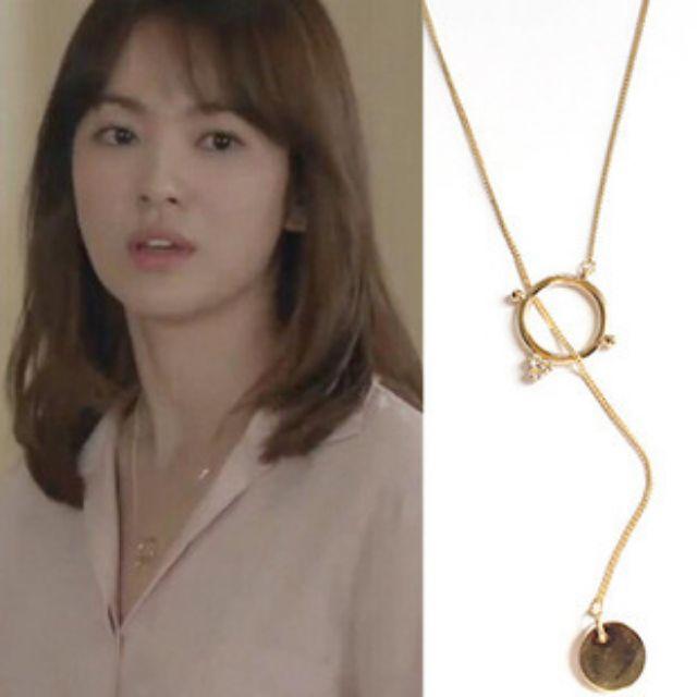 【現貨+預購】韓劇太陽的後裔宋慧喬同款項鍊