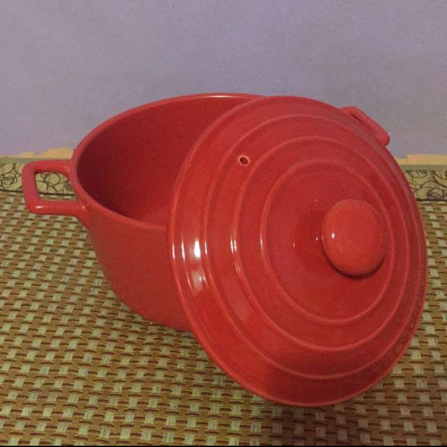 三用亮彩陶瓷鍋