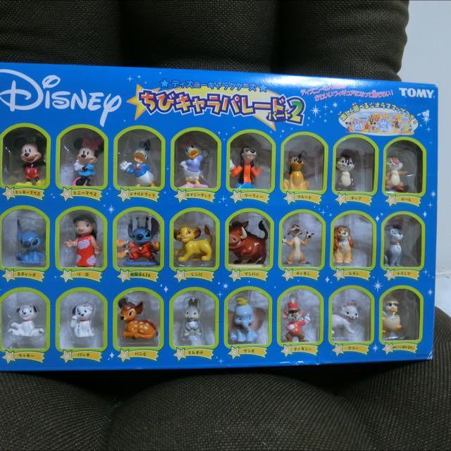 迪士尼 大集合 公仔 小飛象 米奇