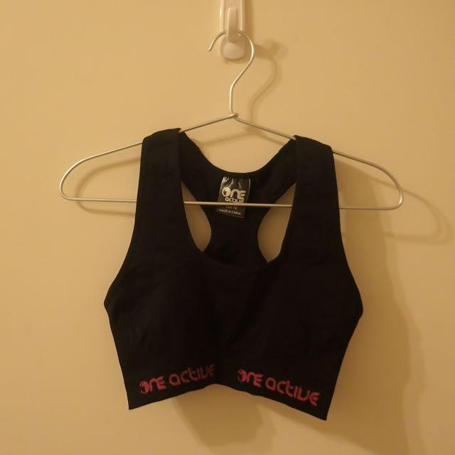 彈性運動內衣 - 無胸墊 size 10