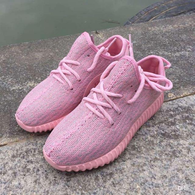 san francisco ebc96 34f1f Adidas Yeezy 350 Boost in Pink