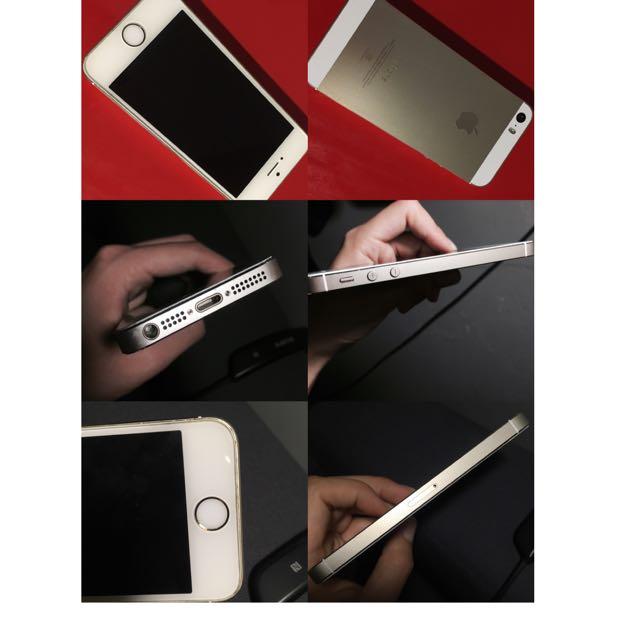✨Apple iPhone 5s 32g 土豪金 二手全配 (價錢可議)