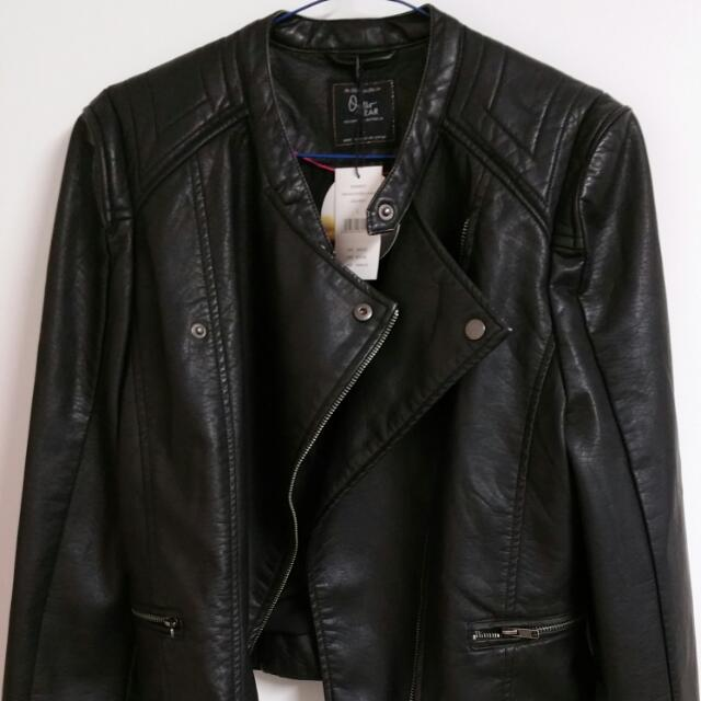 Cotton On Faux Leather Jacket