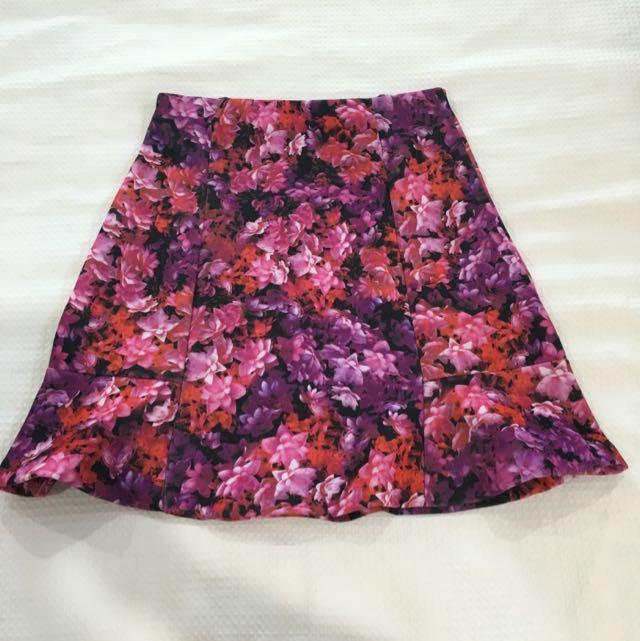 Flower Power Work Skirt