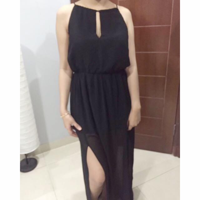 Forever21 Black Maxi Dress