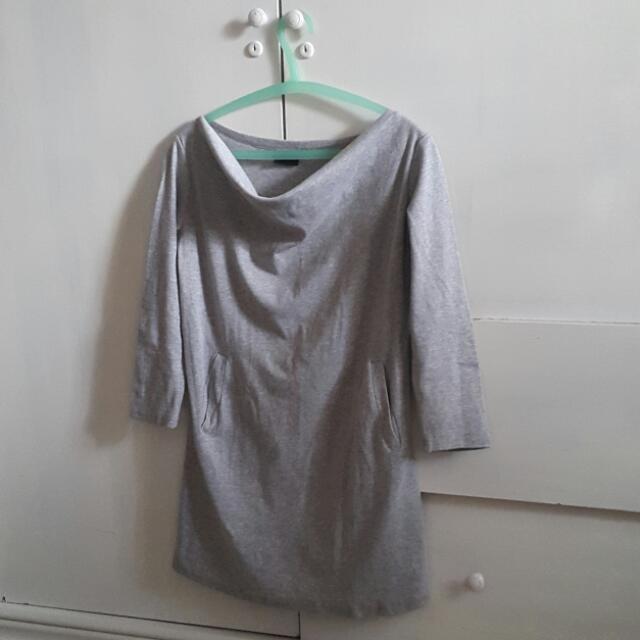 Grey Abu Top Sweater