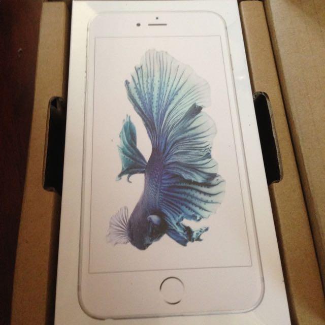iPhone 6s 16G 銀、金 全新未拆封 保固一年