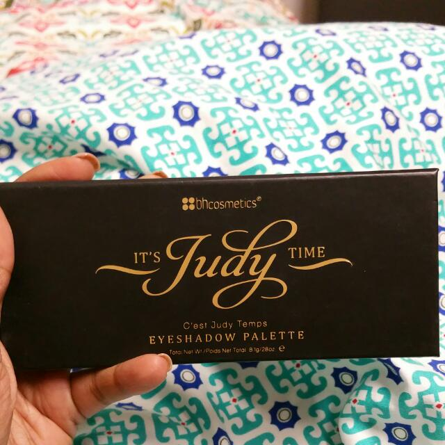 Its Judy Time Bh Cosmetics palette
