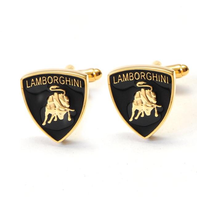 Lamborghini Badge Cufflinks Men S Fashion On Carousell
