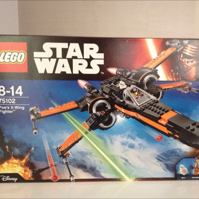 RESERVED-Lego Poe X Wing 75103