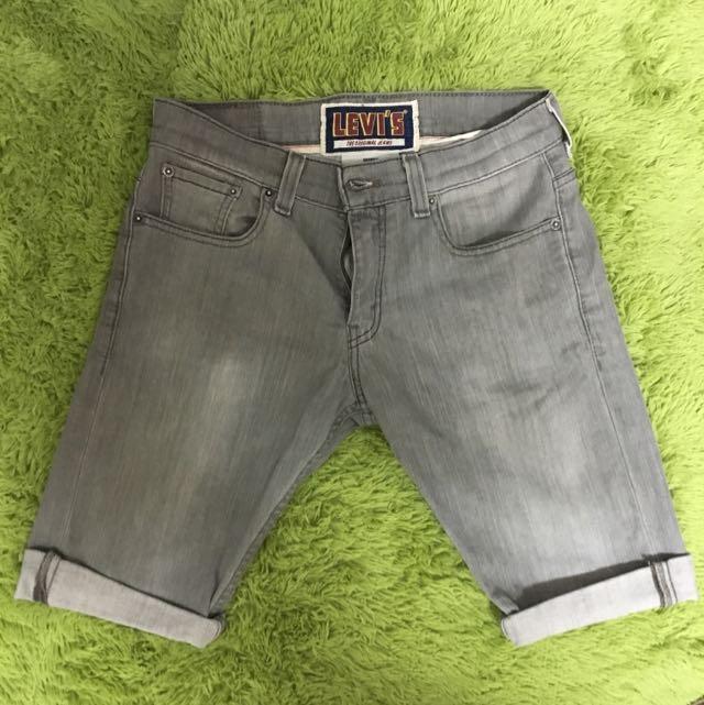 Levi's 511 SKINNY 灰牛仔短褲