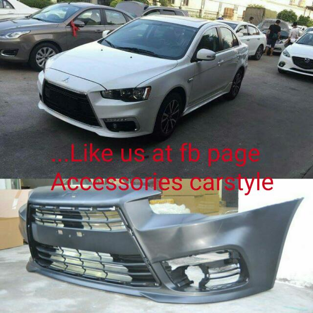 car accessories lancer body for style pp product mitsubishi oe detail parts auto