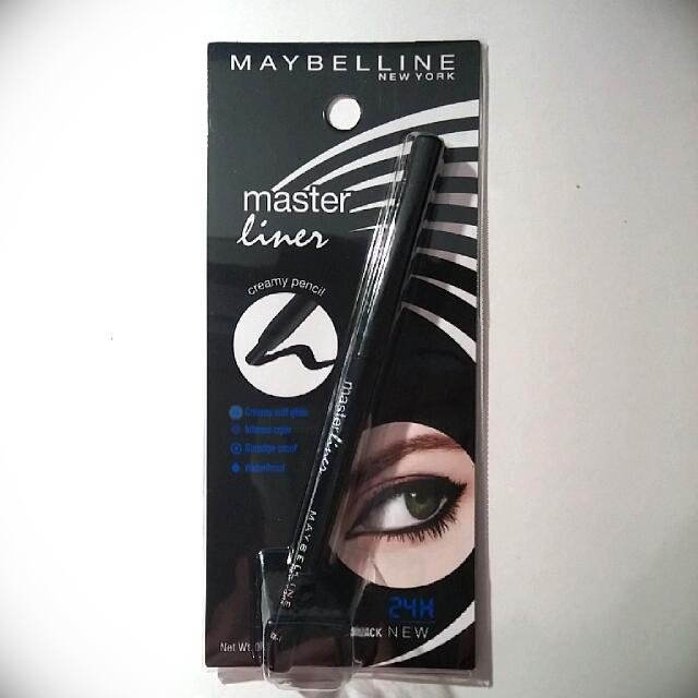 *NEW* Maybelline Master Creamy Pencil Liner