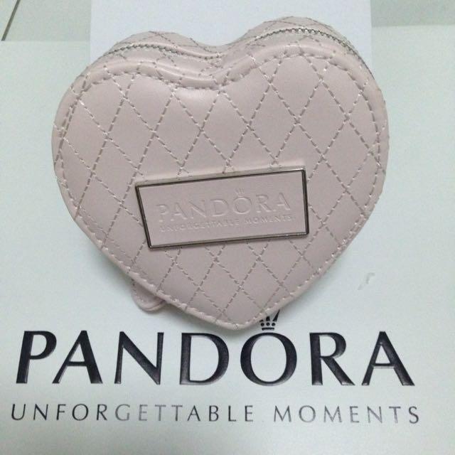 Pandora Heart Shape Jewelry Box