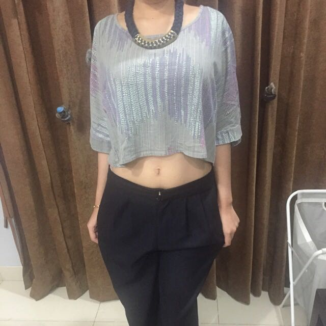 Preloved Cotton On Crop Top