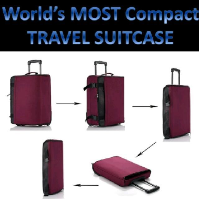 7e509e99b PREMIUM QUALITY] Lightest Collapsible Suitcase / Luggage Cabin ...