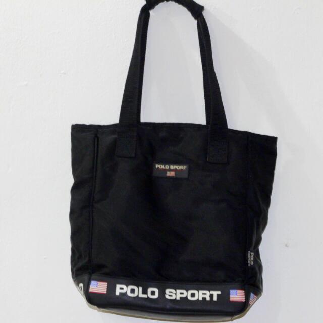 Vintage Polo Sport Tote Bag b7105418be360
