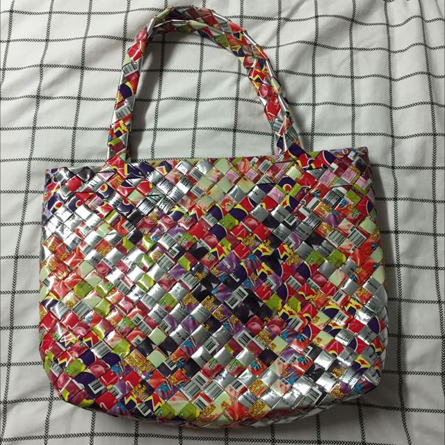 Recycled Materials Tote Bag
