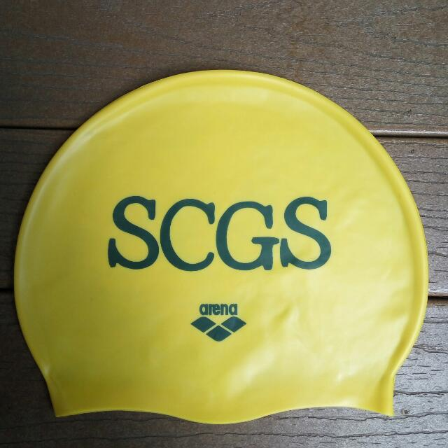 SCGS School Swimming Cap