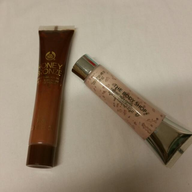 The Body Shop Bronzer And Highlighter