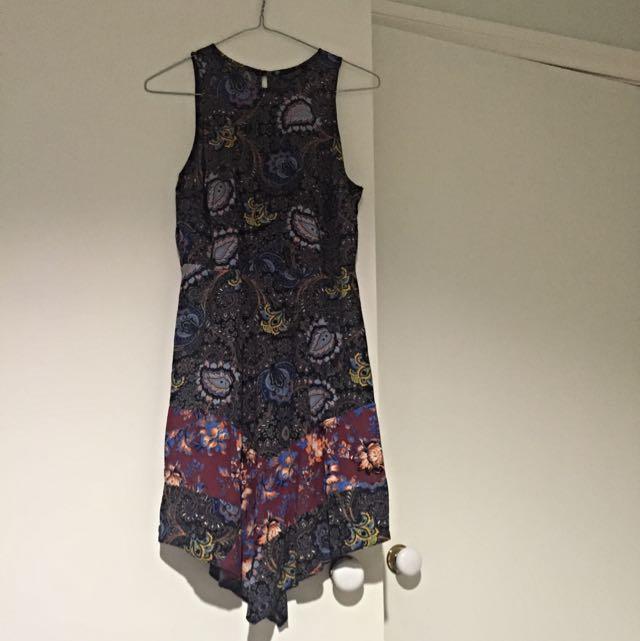 Top shop Paisley Print Mini Dress