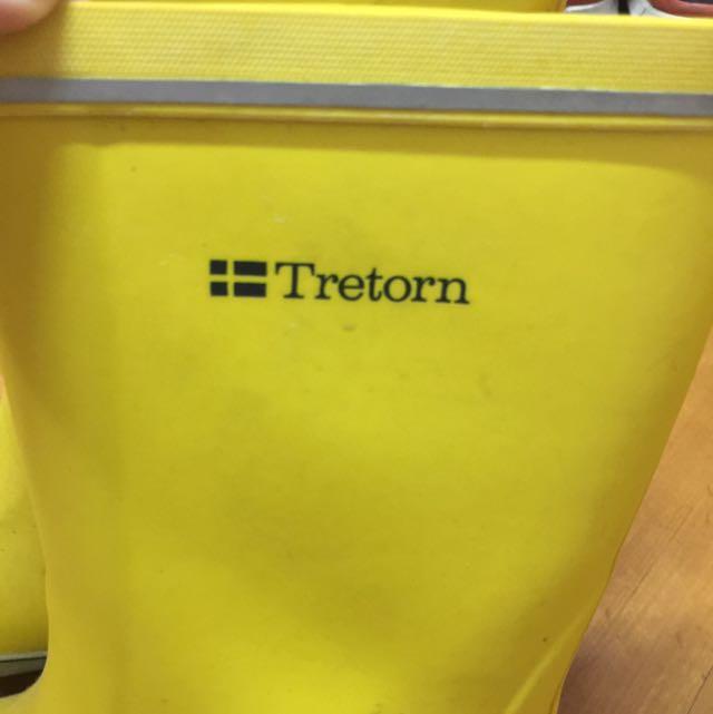 Tretorn Yellow Rain Boots